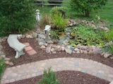 Pond and Walkway